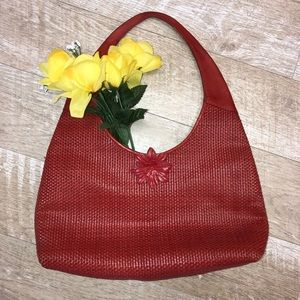 Paola Masi Red leather bag